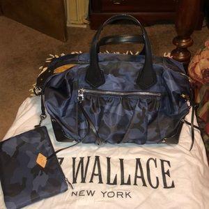Mz Wallace blue Camo Josie